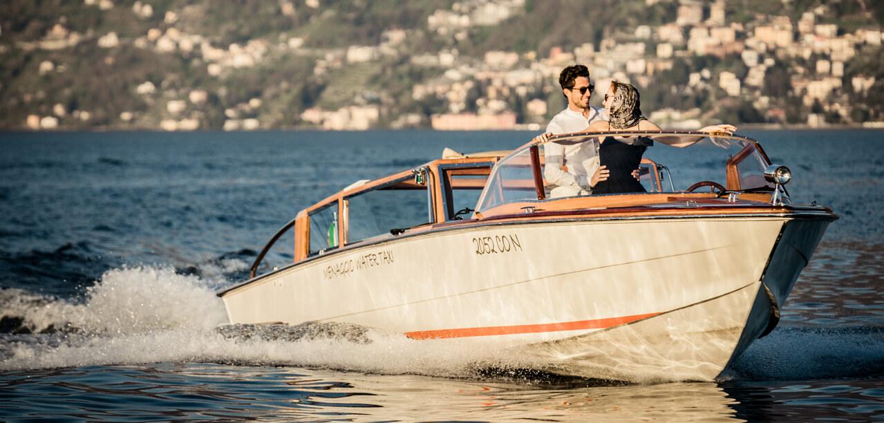 Gallery Menaggio Water Limousine matrimoni