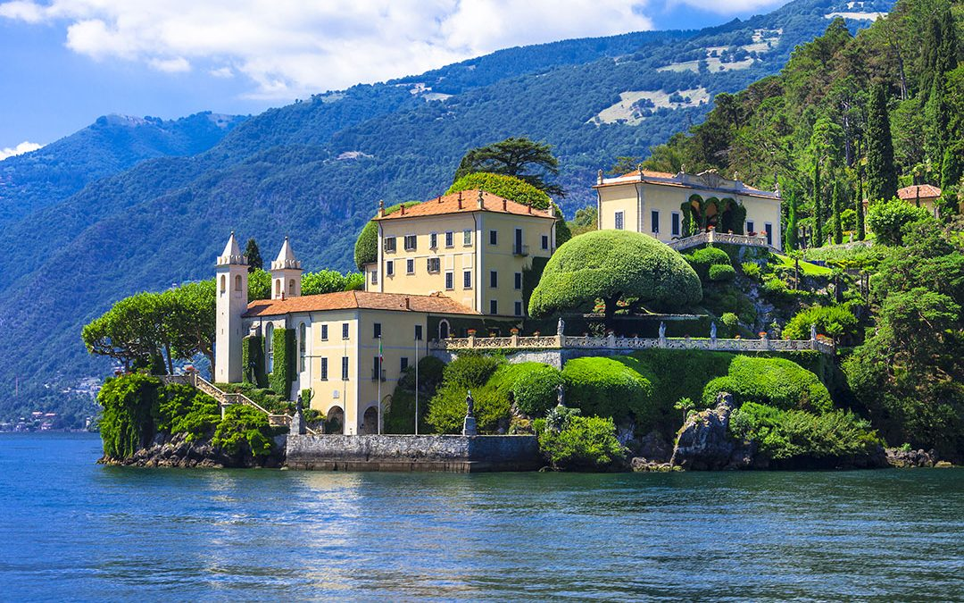 The most famous villas of Lake Como